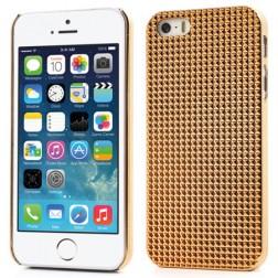 Stilingas reljefinis dėklas - auksinis (iPhone 5 / 5S / SE)