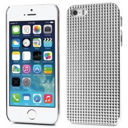 Stilingas reljefinis dėklas - baltas (iPhone 5 / 5S / SE)