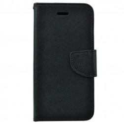 """""""Fancy"""" atverčiamas dėklas - juodas (iPhone 5 / 5S / SE)"""