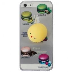 """""""Squezy"""" Yolk kieto silikono (TPU) dėklas - skaidrus (iPhone 5 / 5s / SE)"""
