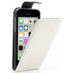 Klasikinis atverčiamas dėklas - baltas (iPhone 5C)