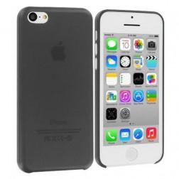 Skaidrus plastikinis dėklas - juodas (iPhone 5C)