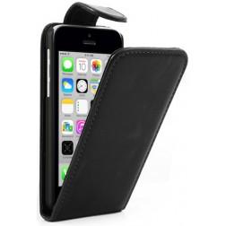 Klasikinis atverčiamas dėklas - juodas (iPhone 5C)