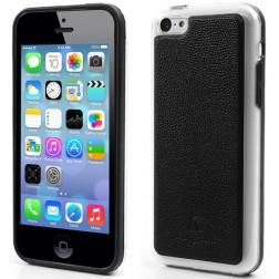 """""""Kingpad"""" Leather dėklas - juodas (iPhone 5C)"""