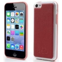 """""""Kingpad"""" Leather dėklas - raudonas (iPhone 5C)"""