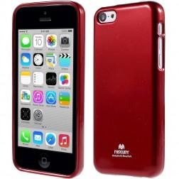 """""""Mercury"""" Color dėklas - raudonas (iPhone 5C)"""