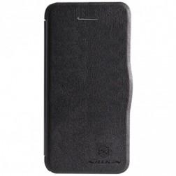 """""""Nillkin"""" Fresh atverčiamas dėklas - juodas (iPhone 5c)"""