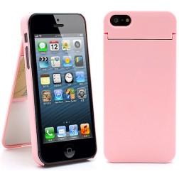 """""""ONE%+"""" dėklas - rožinis (iPhone 5 / 5S / SE)"""