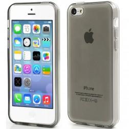 Kieto silikono dėklas - pilkas (iPhone 5C)