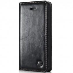 """""""CaseMe"""" solidus atverčiamas dėklas - juodas (iPhone 5 / 5S / SE)"""