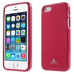 """""""Mercury"""" dėklas - tamsiai rožinis (iPhone 5 / 5S / SE)"""