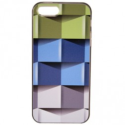 """Bullet"" dėklas - ""Cubes"" (iPhone 5 / 5S / SE)"