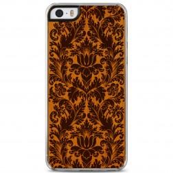 """""""Crafted Cover"""" natūralaus medžio dėklas - Augalai (iPhone 5 / 5S / SE)"""
