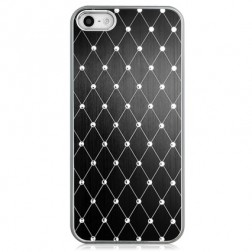 Elegantiškas dėklas - juodas (iPhone 5 / 5S / SE)