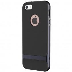 """""""Rock"""" Royce dėklas - juodas (iPhone 5 / 5s / SE)"""