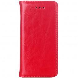 Solidus atverčiamas dėklas - raudonas (iPhone 5 / 5S / SE)