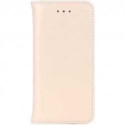 Solidus atverčiamas dėklas - smėlio spalvos (iPhone 5 / 5S / SE)