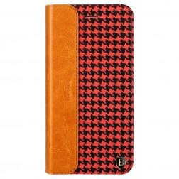 """""""Baseus"""" Collocation solidus atverčiamas dėklas - raudonas/juodas (iPhone 6 / 6s)"""