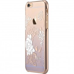 """Devia"" Charm Swarovski dėklas - violetinis (iPhone 6 / 6S)"
