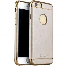 """""""IPAKY"""" Luxury kieto silikono (TPU) dėklas - rausvai auksinis (iPhone 6 / 6s)"""