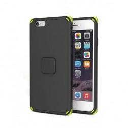 """""""Rock"""" Moc sustiprintos apsaugos dėklas - juodas (iPhone 6 / 6S)"""