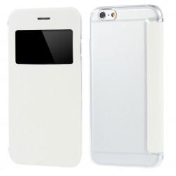 Atverčiamas dėklas su langeliu - baltas (iPhone 6 / 6s)