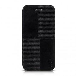 """""""HOCO"""" Crystal Fashion atverčiamas dėklas - juodas (iPhone 6 / 6s)"""