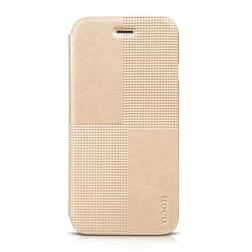"""""""HOCO"""" Crystal Fashion atverčiamas dėklas - auksinis (iPhone 6 / 6s)"""