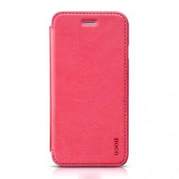 """""""HOCO"""" Crystal Classic atverčiamas dėklas - rožinis (iPhone 6 / 6s)"""