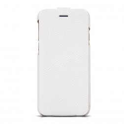 """""""HOCO"""" Duke vertikaliai atverčiamas dėklas - baltas (iPhone 6 / 6s)"""