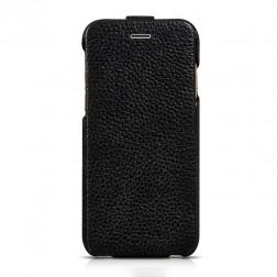 """""""HOCO"""" Duke vertikaliai atverčiamas dėklas - juodas (iPhone 6 / 6s)"""