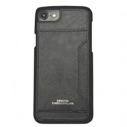 """""""PORTER"""" dėklas su kišenėle - juodas (iPhone 6 / 6s)"""
