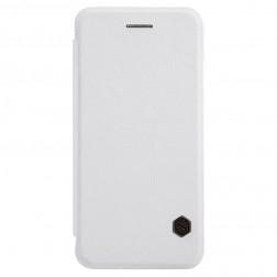 """""""Nillkin"""" Qin atverčiamas dėklas - baltas (iPhone 6 / 6s)"""