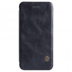 """""""Nillkin"""" Qin atverčiamas dėklas - juodas (iPhone 6 Plus / 6s Plus)"""