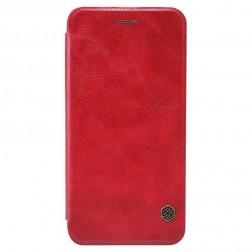"""""""Nillkin"""" Qin atverčiamas dėklas - raudonas (iPhone 6 / 6s)"""