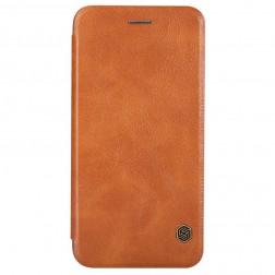 """""""Nillkin"""" Qin atverčiamas dėklas - rudas (iPhone 6 / 6s)"""