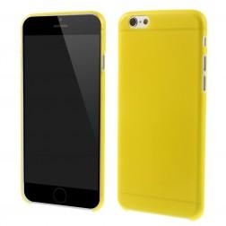 Ploniausias plastikinis dėklas - geltonas (iPhone 6 / 6s)