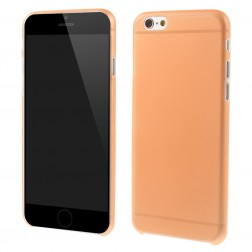 Ploniausias plastikinis dėklas - oranžinis (iPhone 6 / 6s)