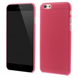 Ploniausias plastikinis dėklas - raudonas (iPhone 6 / 6s)