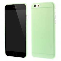 Ploniausias plastikinis dėklas - žalias (iPhone 6 / 6s)