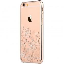"""""""Devia"""" Rococo Swarovski dėklas - auksinis (iPhone 6 Plus / 6S Plus)"""