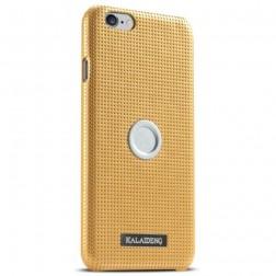 """""""Kalaideng"""" Drive dėklas - auksinis + automobilinis laikiklis (iPhone 6 Plus / 6s Plus)"""