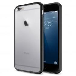 Matinis plastikinis dėklas - juodas (iPhone 6 Plus / iPhone 6s Plus)