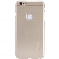 """""""Nillkin"""" Frosted Shield dėklas - auksinis + apsauginė ekrano plėvelė (iPhone 6 Plus / 6s Plus)"""