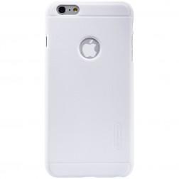 """""""Nillkin"""" Frosted Shield dėklas - baltas + apsauginė ekrano plėvelė (iPhone 6 Plus / 6s Plus)"""