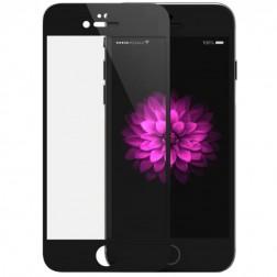 """""""Devia"""" 9H Tempered Glass apsauginis ekrano stiklas 0.33 mm + nugarėlės plėvelė - juodas (iPhone 6 Plus / 6S Plus)"""