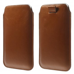 Įmautė telefonui - ruda (XL dydis)