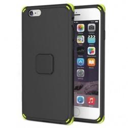 """""""Rock"""" Moc sustiprintos apsaugos dėklas - juodas (iPhone 6 Plus / 6S Plus)"""