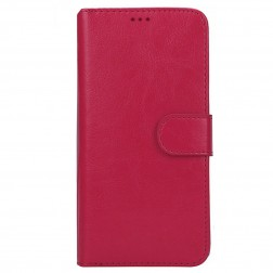 """""""Litchi"""" atverčiamas dėklas - tamsiai rožinis (iPhone 6 Plus / 6s Plus)"""