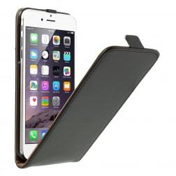 Klasikinis atverčiamas dėklas - juodas (iPhone 6 Plus / 6s Plus)